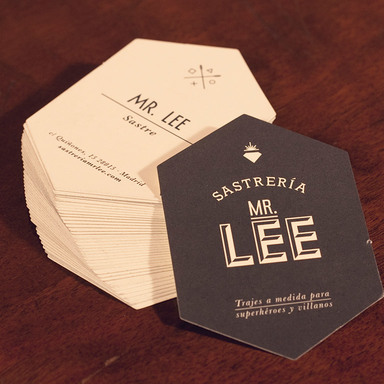 Mr. Lee, tailor to superheroes and villains