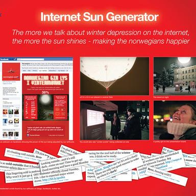 Internet Sun Generator