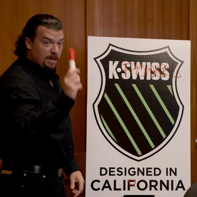 Tubes: Kenny Powers gets signed by K-Swiss