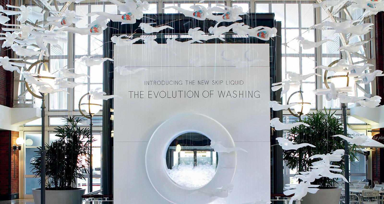 Skip Evolution of Washing