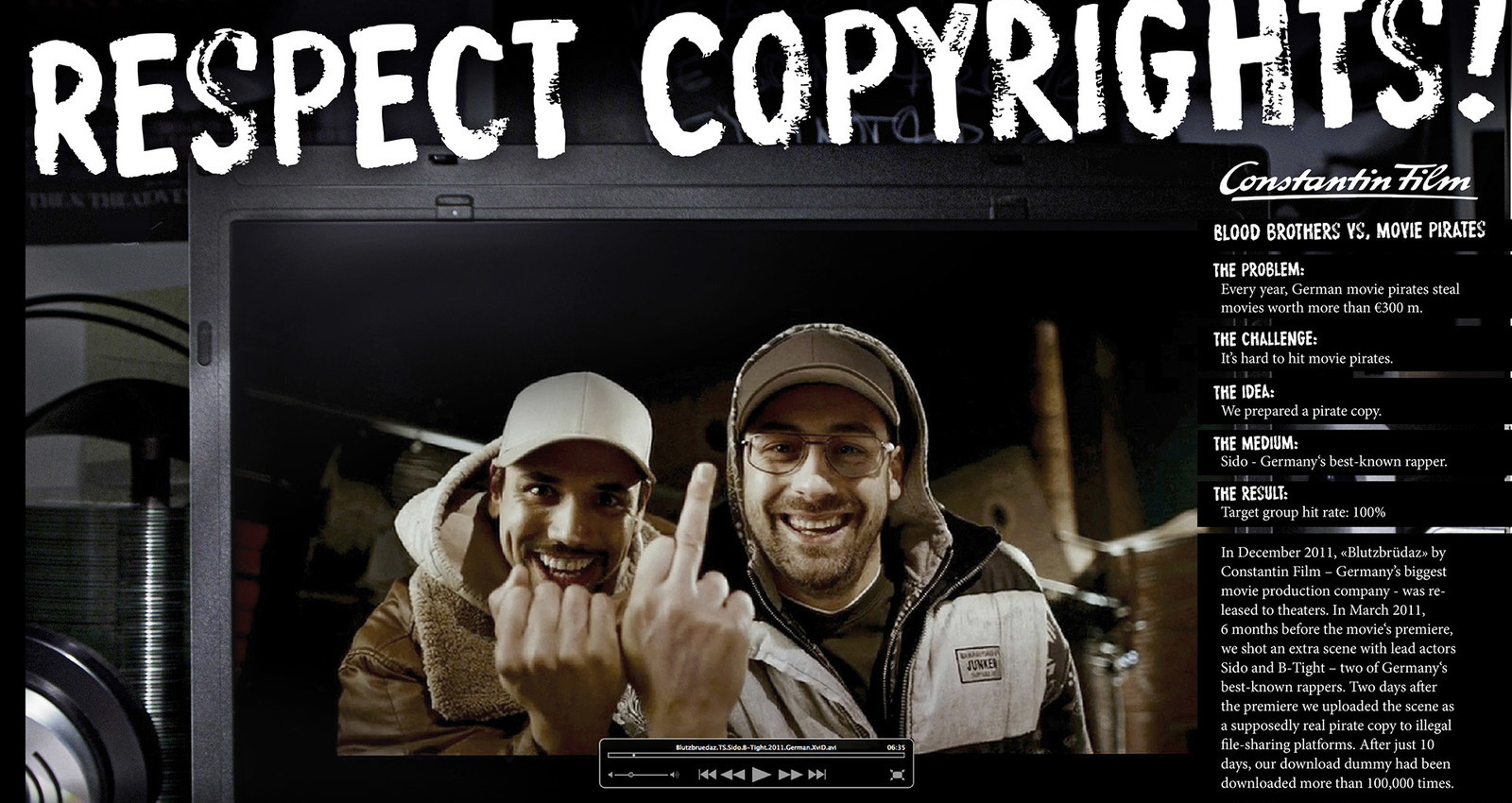 Respect Copyrights!