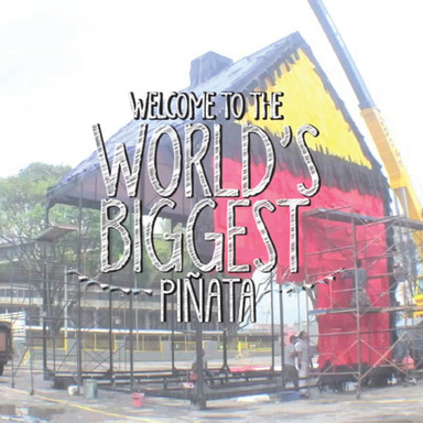 The Worlds Biggest Pinata