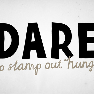Dare to Stamp Out Hunger