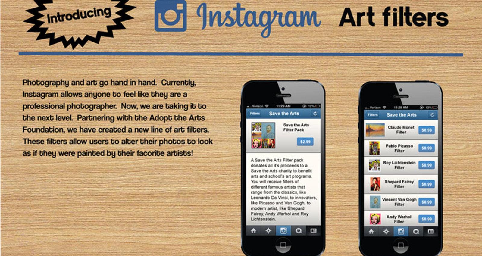 Instagram Art Filters