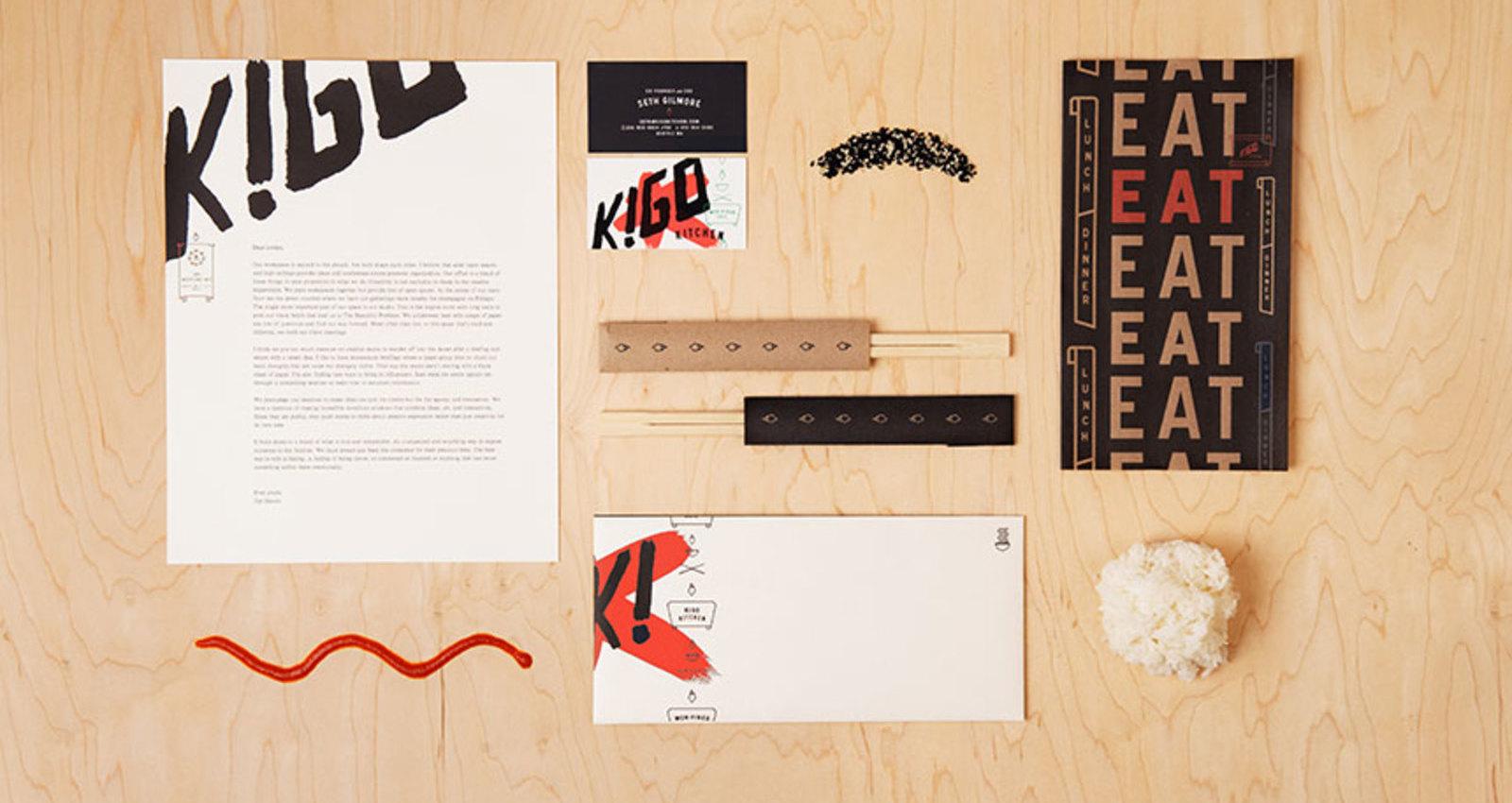 Kigo Kitchen Typography