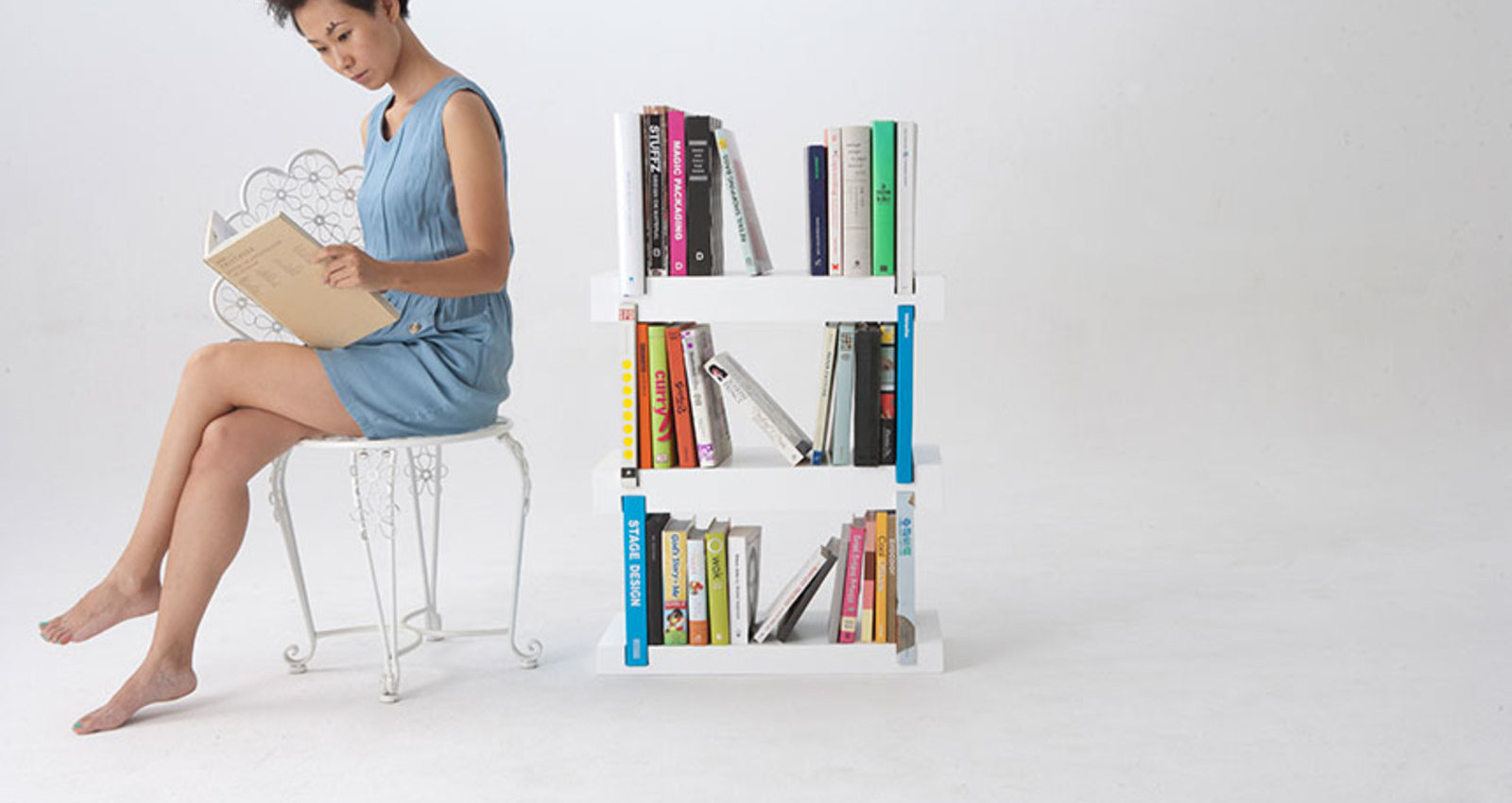 Minimal Bookshelf