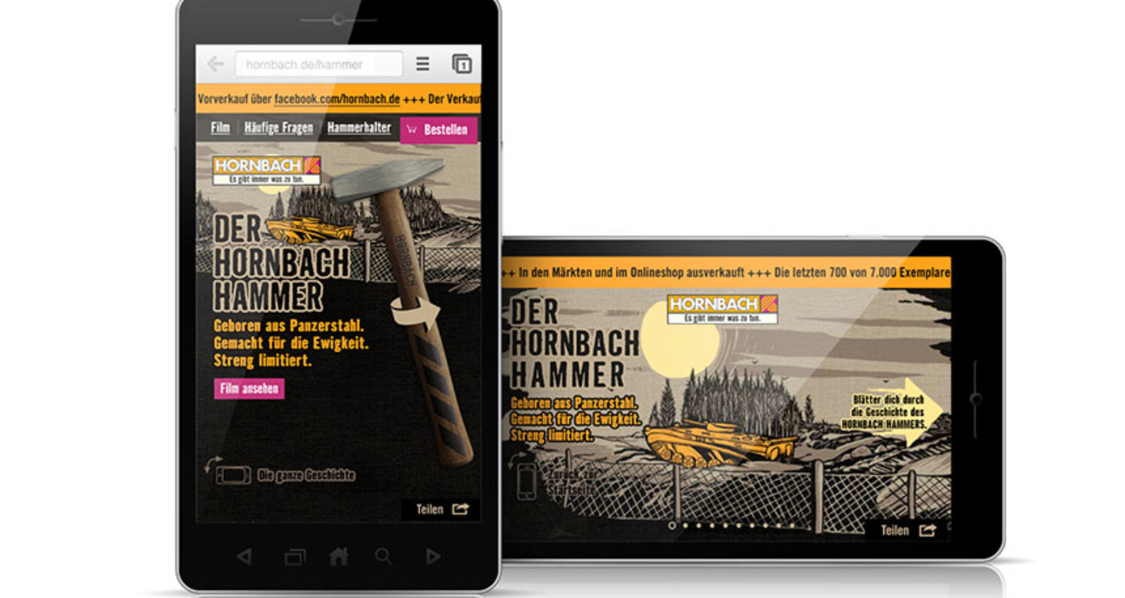 The Hornbach Hammer