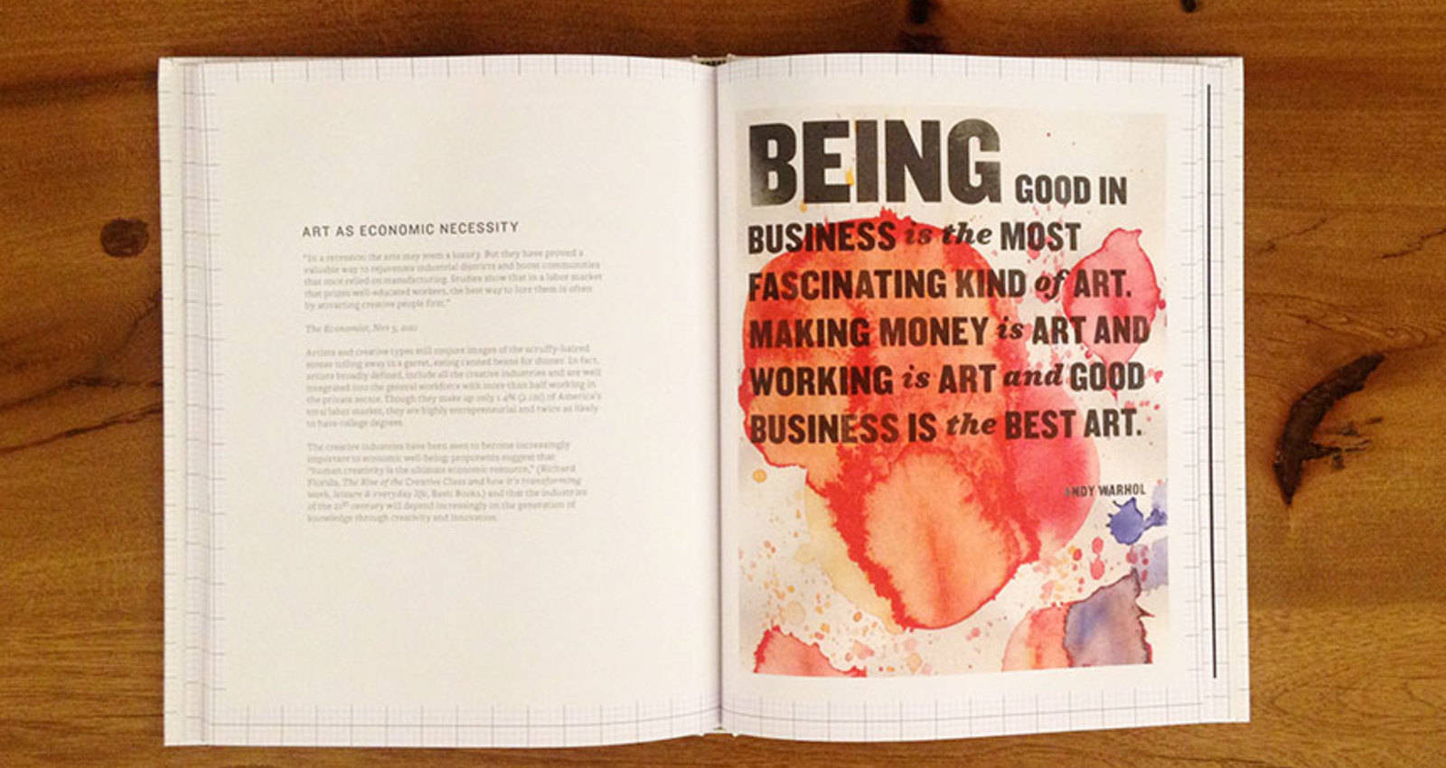 Beautiful Economics. The Economics of Creativity.
