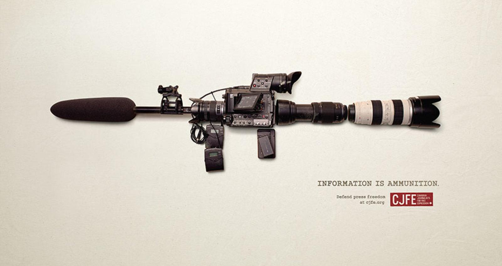 Information is Ammunition