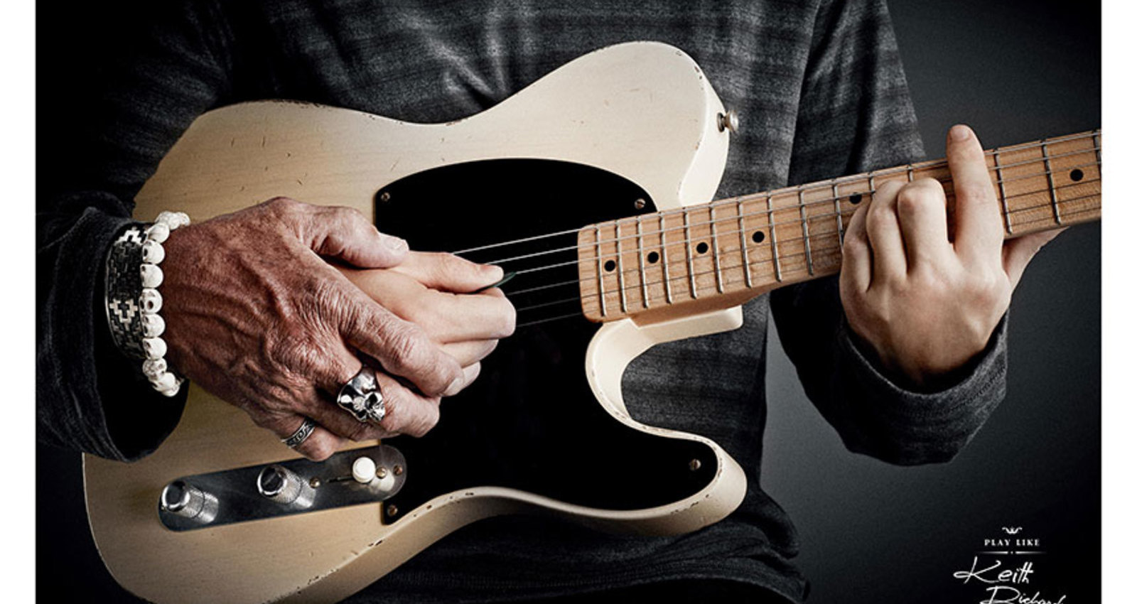 Hands: Keith Richards