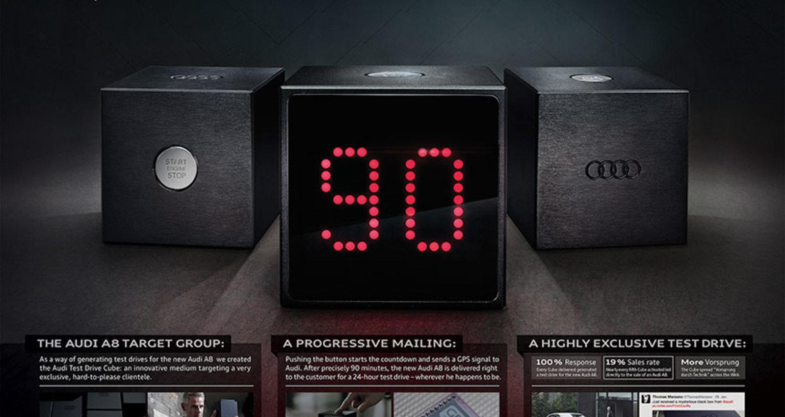 Audi Test Drive Cube
