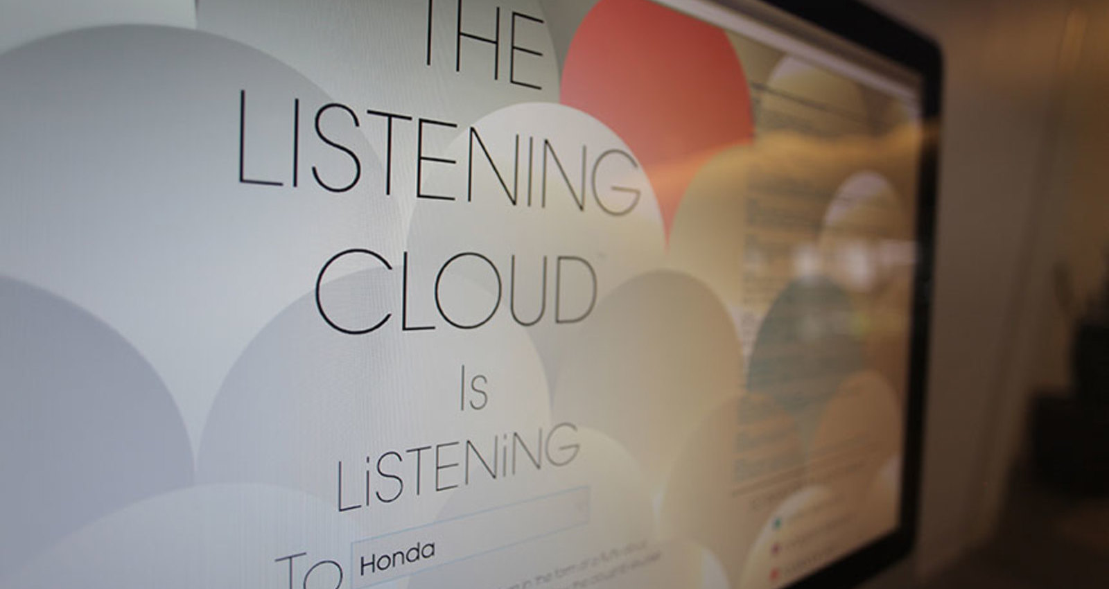 The Listening Cloud
