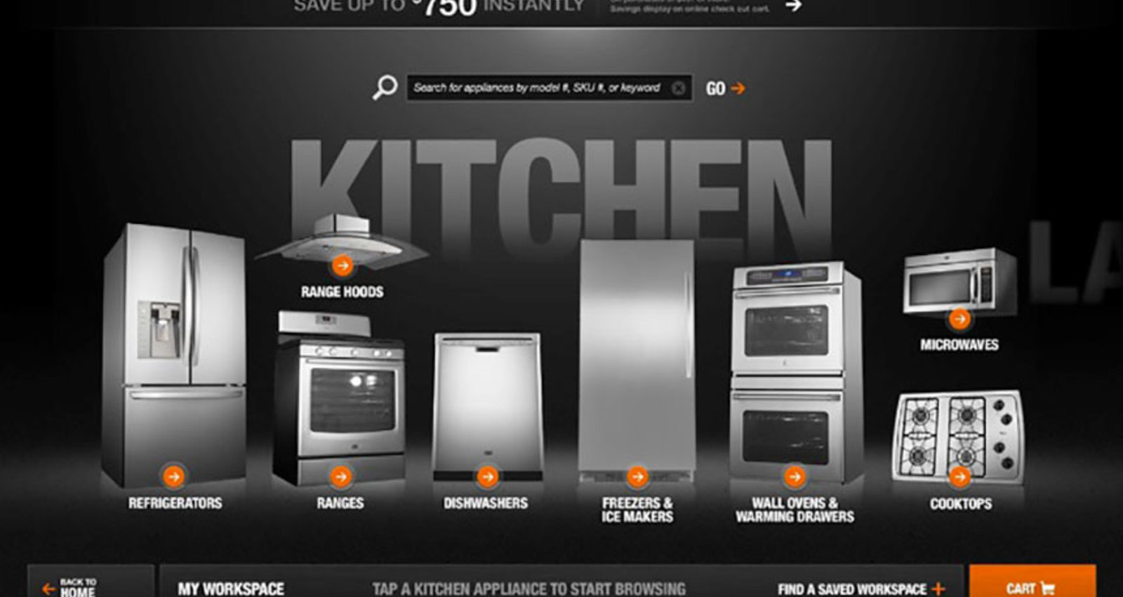 The Home Depot Appliance Experience
