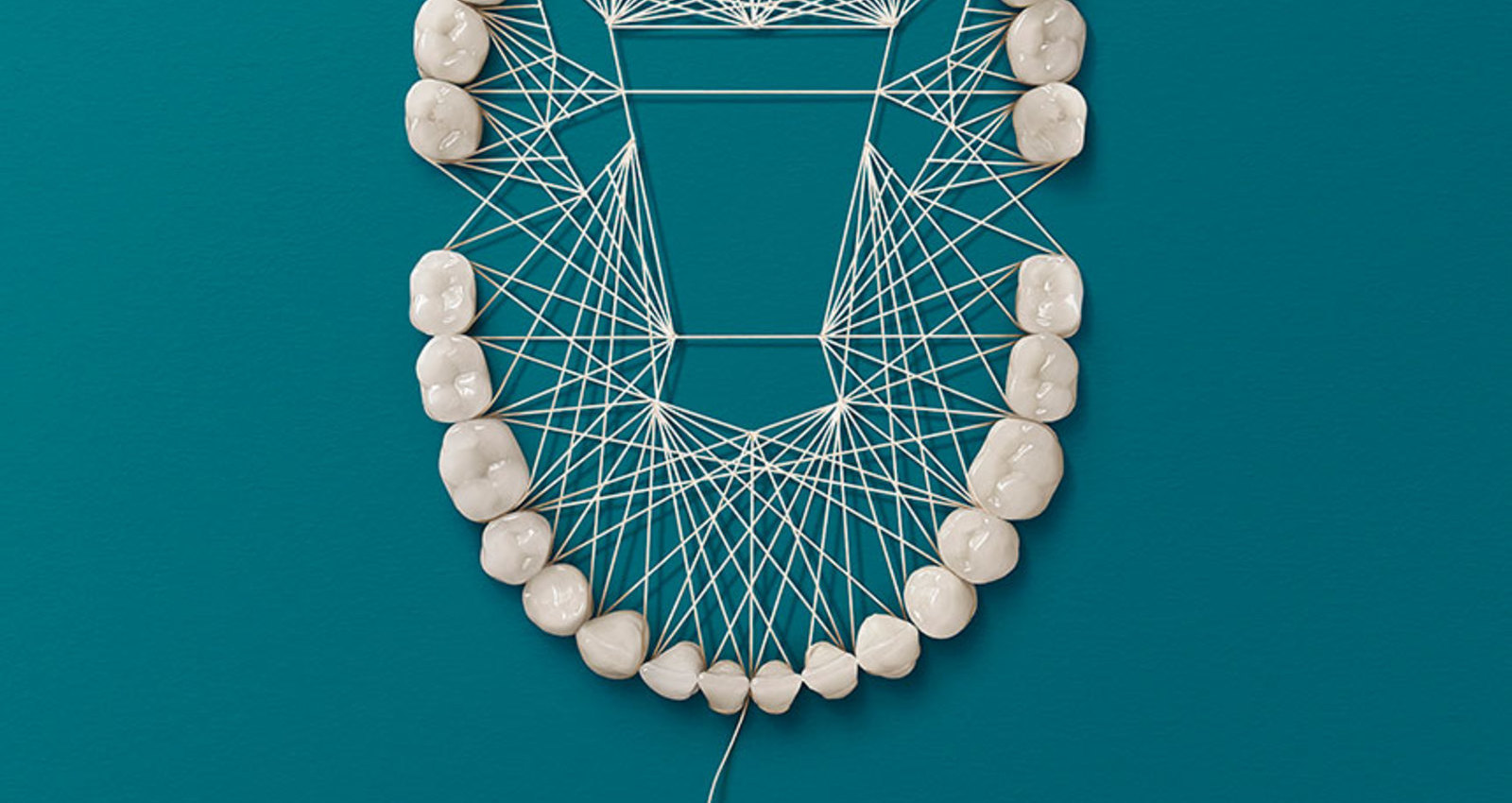 Dental Floss Art Campaign