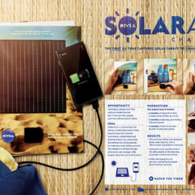 SolarAd Charger