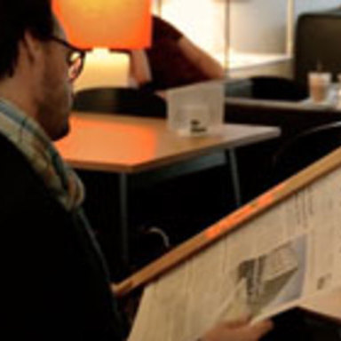 Digital Newspaper Holder