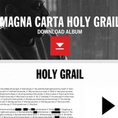 Jay Z Magna Carta Holy Grail App