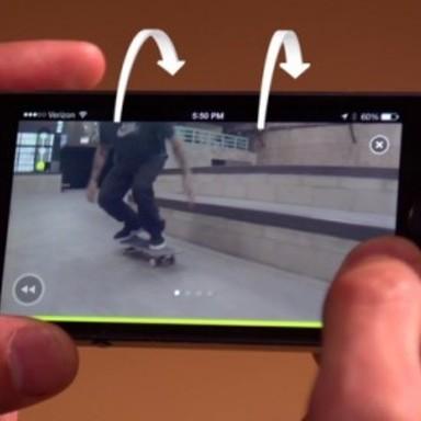 The Nike SB App - Tilt Control