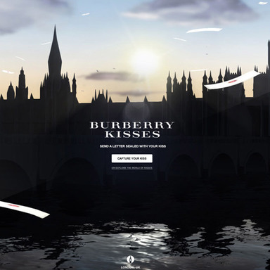 Burberry Kisses: A Google Art, Copy & Code Project