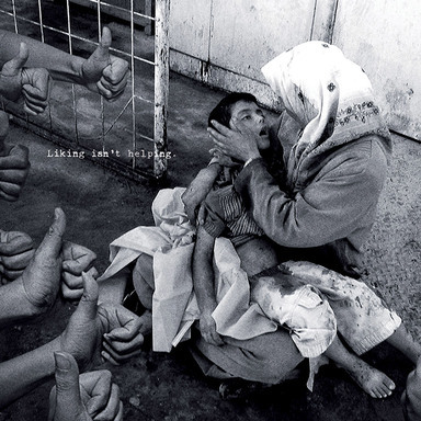 Liking Isn't Helping - War