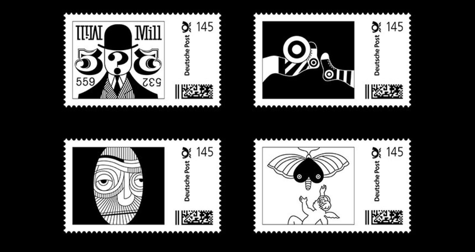 Retrospective Heinz Beier / Stamps
