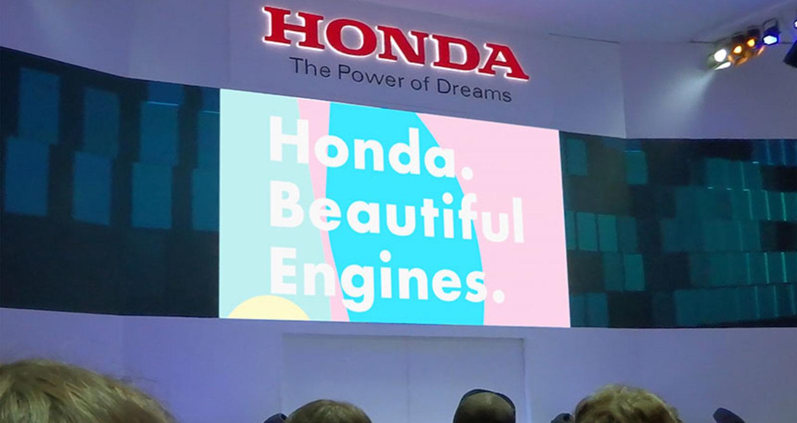 Honda. Beautiful Engines.