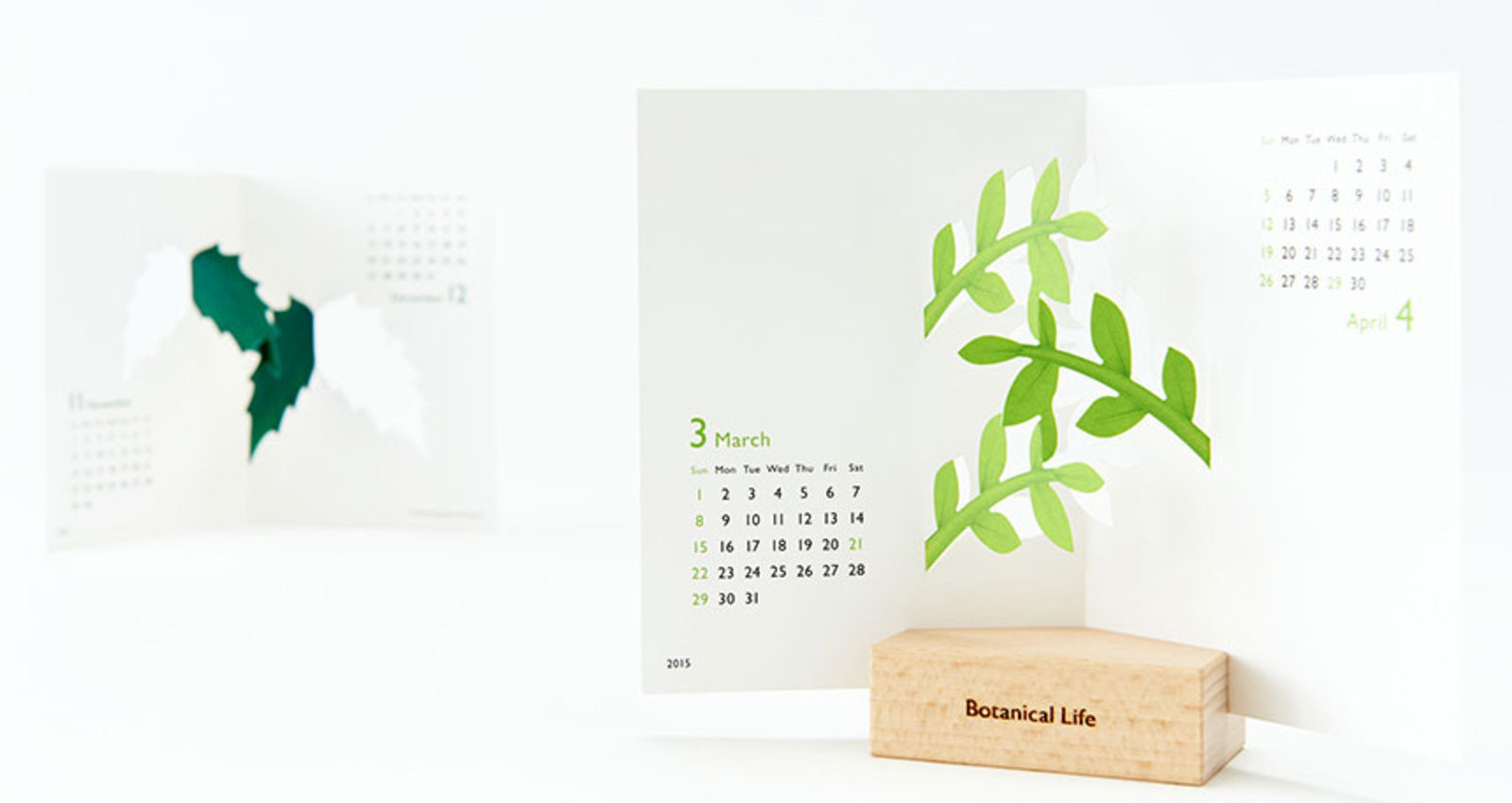 good morning original calendar: Botanical Life