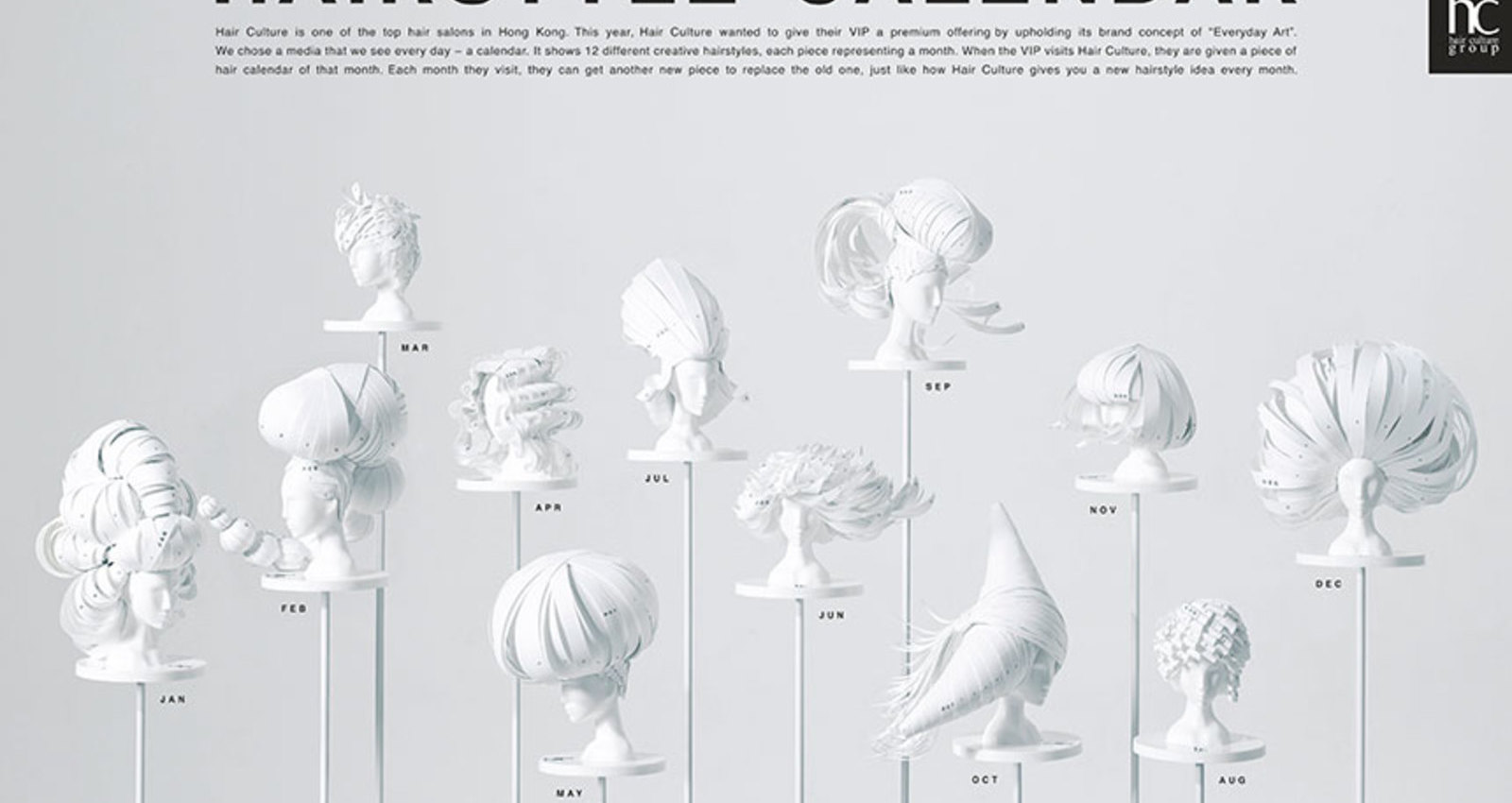 Hairstyle Calendar