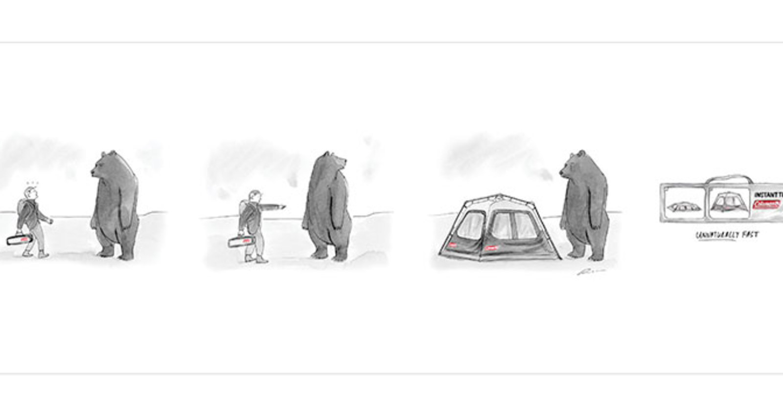 Instant Tent - Bear