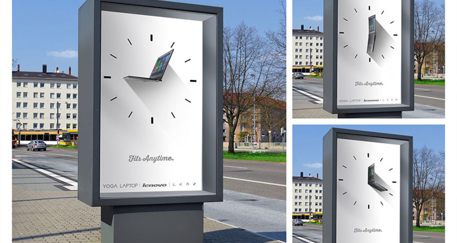 3D Laptops Outdoor