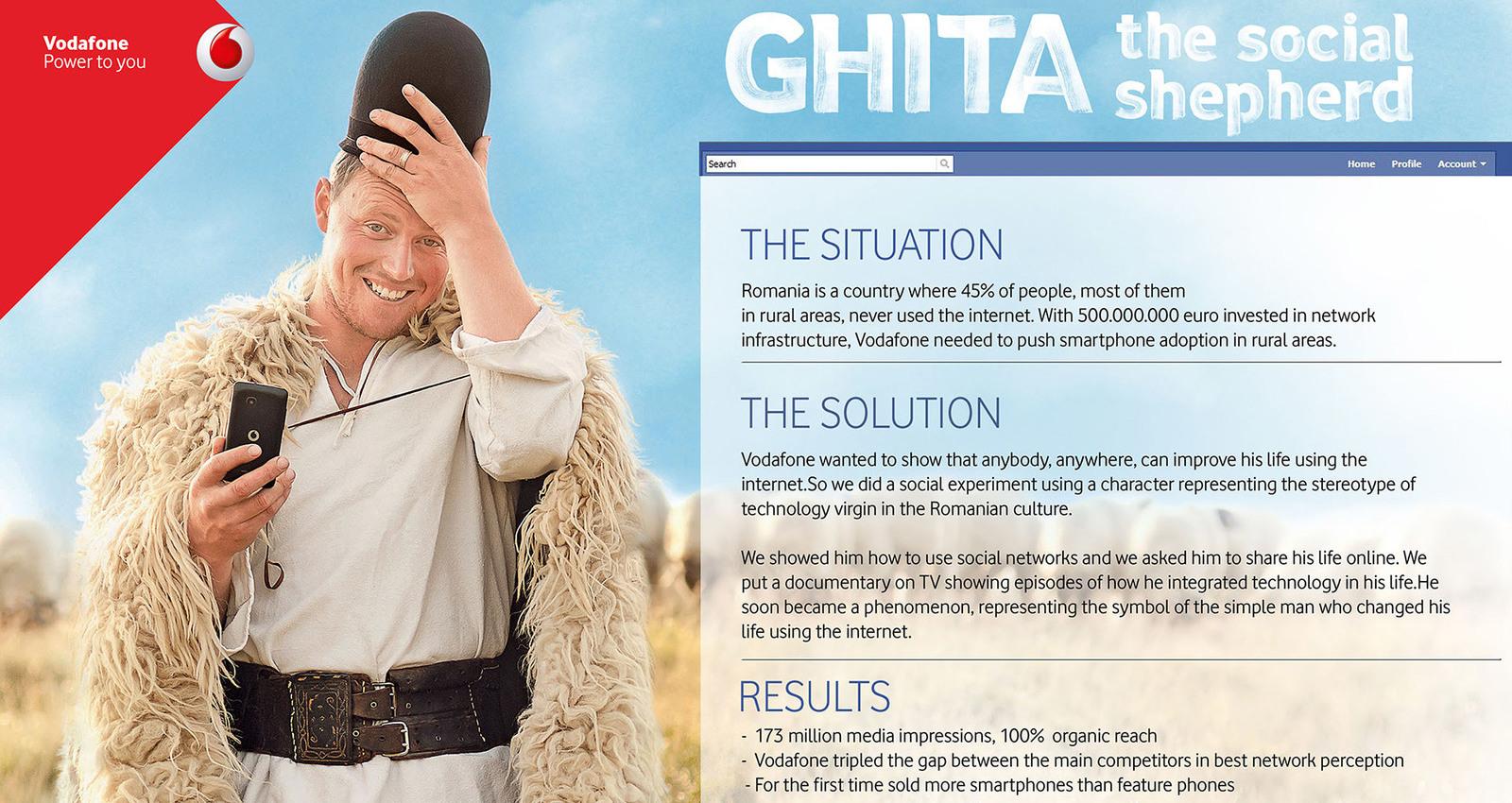 Ghita, The Social Shepherd