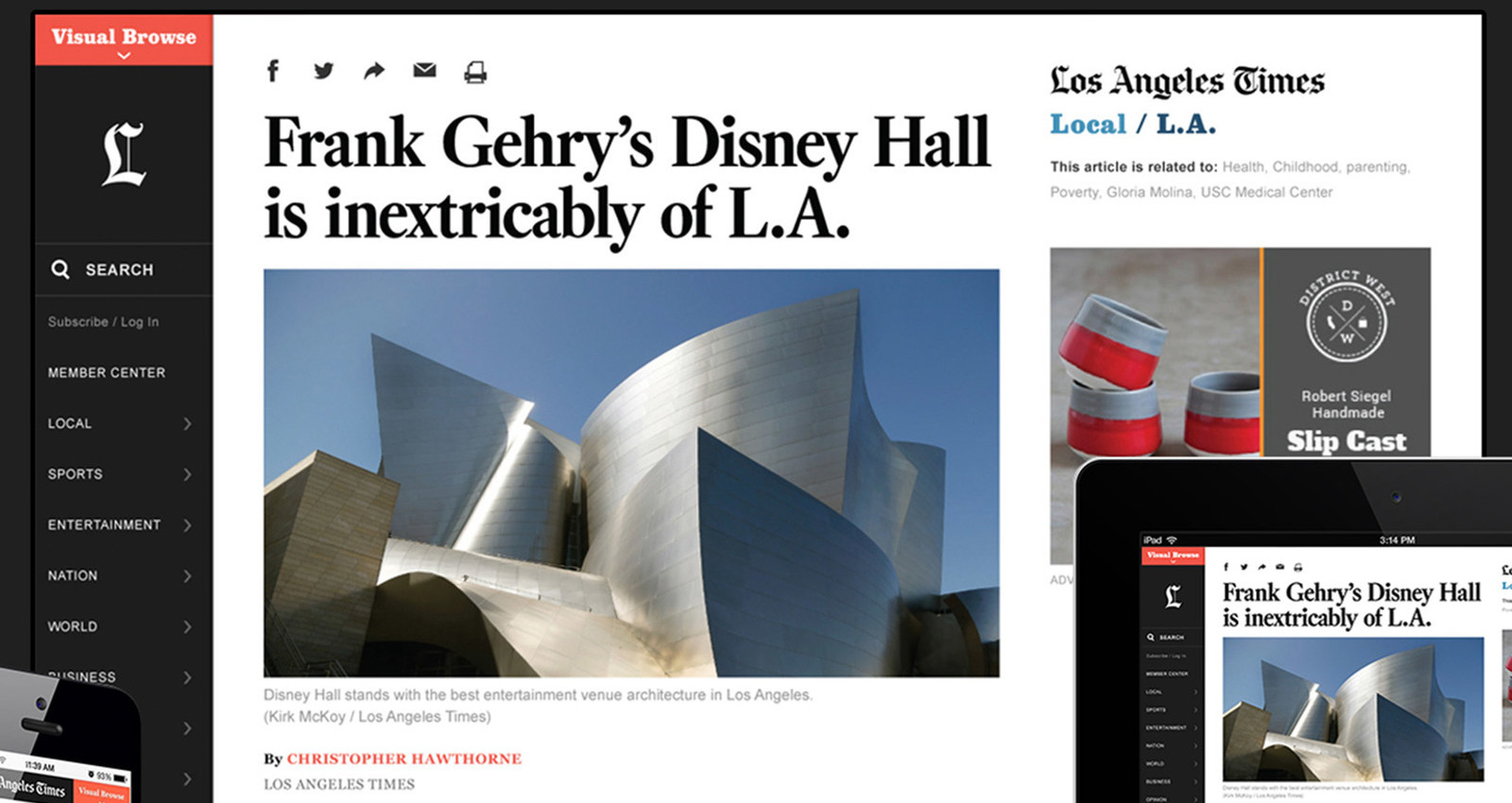 The redesign of latimes.com