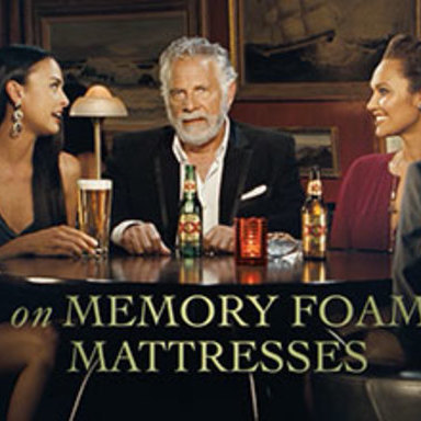 On Memory Foam Mattresses