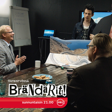 BRÄNDÄRIT (BUYTHIS)-A SITCOM WHERE A FICTIONAL AD AGENCY WORKS WITH REAL CLIENTS