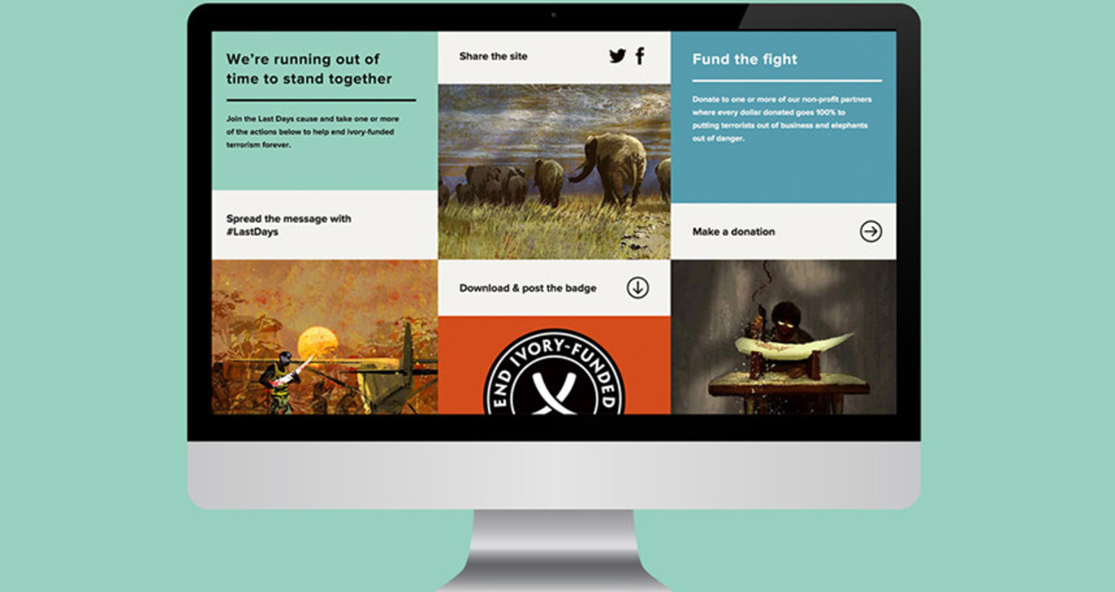 Last Days of Ivory: Website and Branding