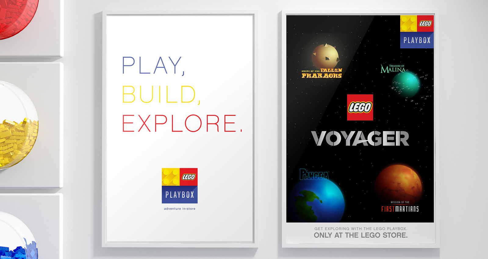 Lego PLaybox Collateral Design