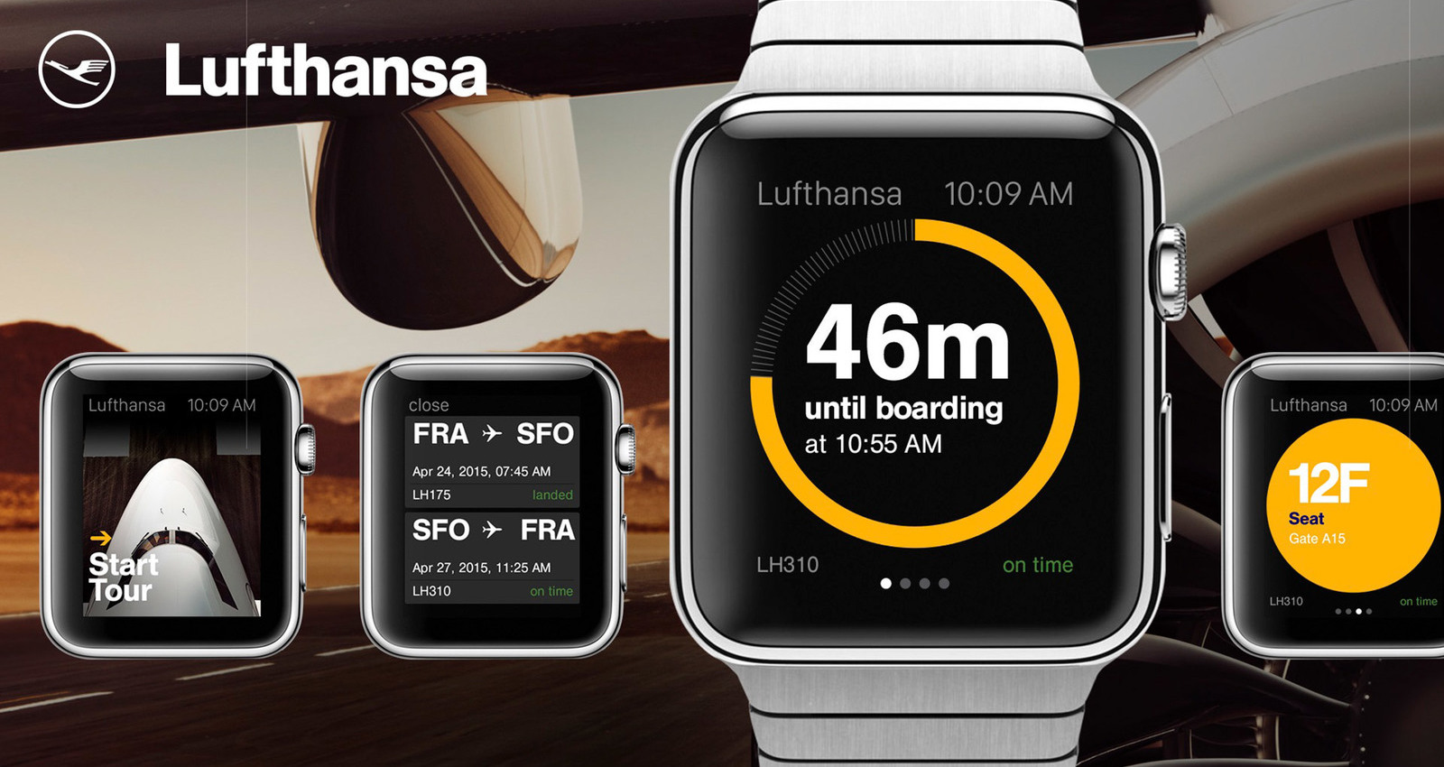 Lufthansa Apple Watch App