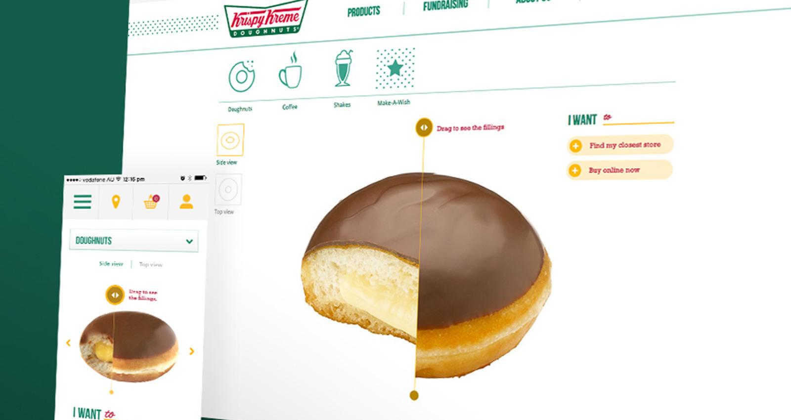 Krispy Kreme - E-Commerce Store