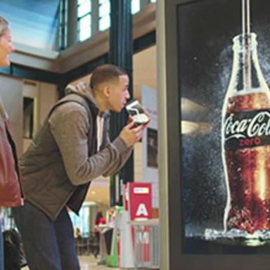 Drinkable Advertising