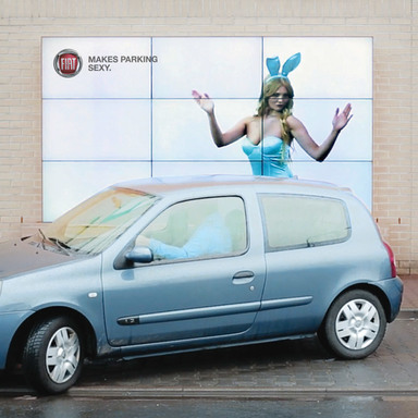 The Interactive Parking Billboard