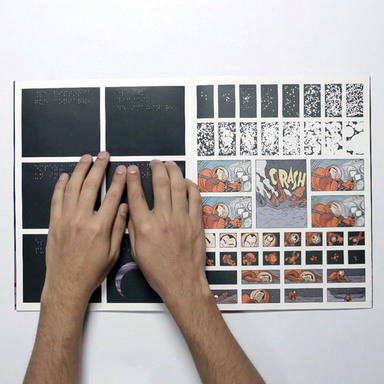 Sensus. The First Braille Comic in the World.