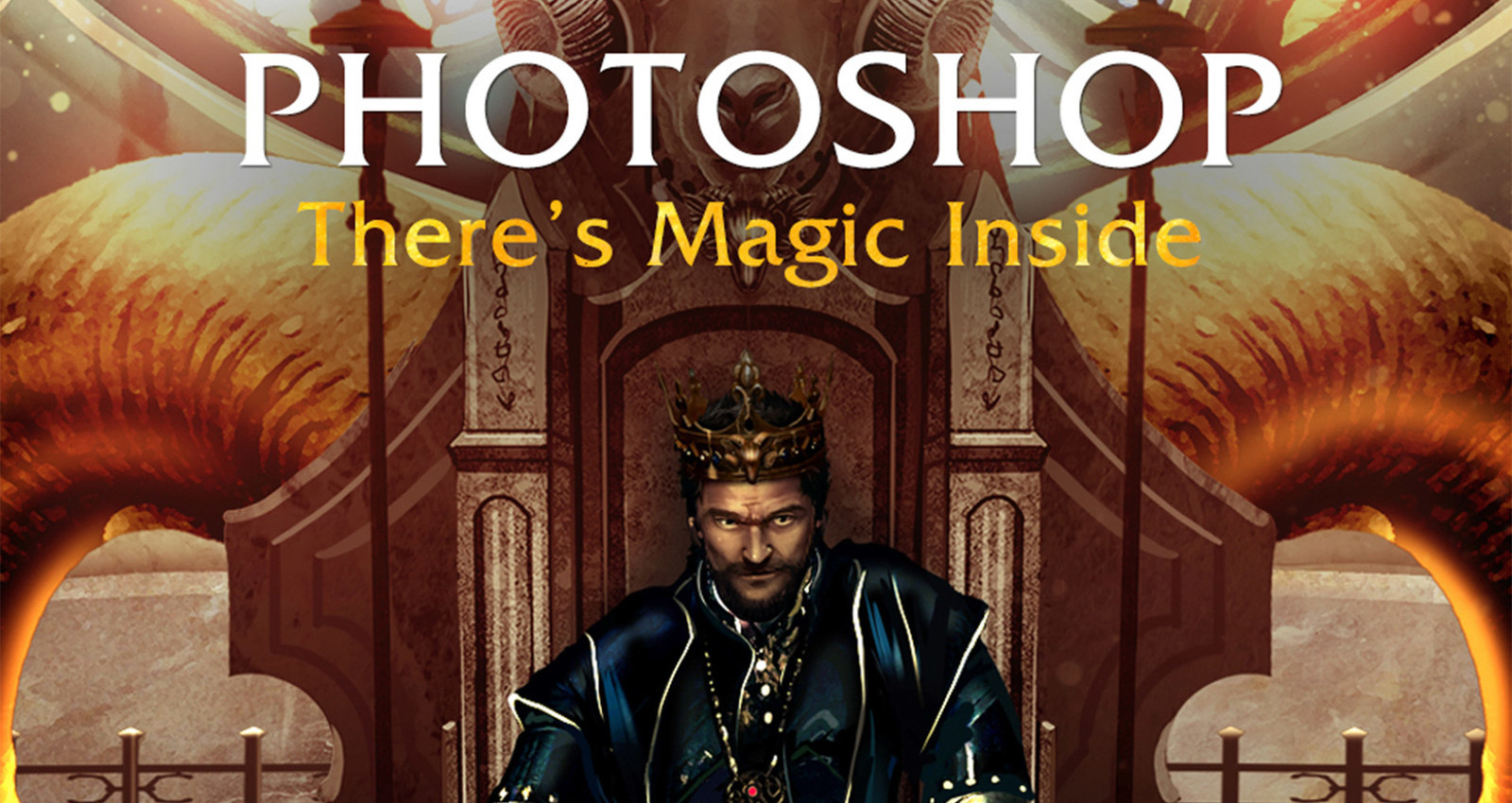 Adobe Photoshop - There's Magic Inside