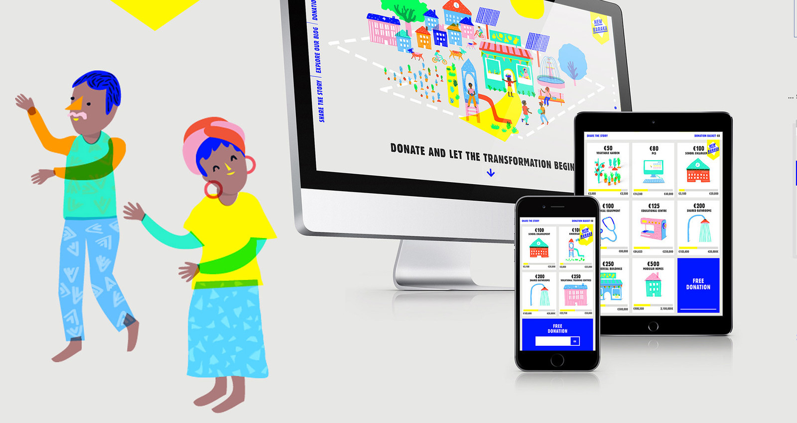 New Baraka – the first online shop for hope