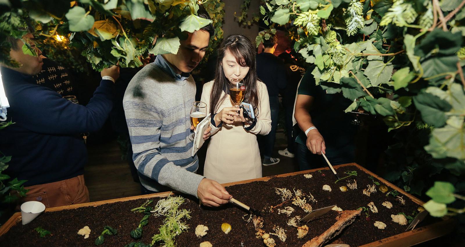 Stella Artois hosts Le Savoir