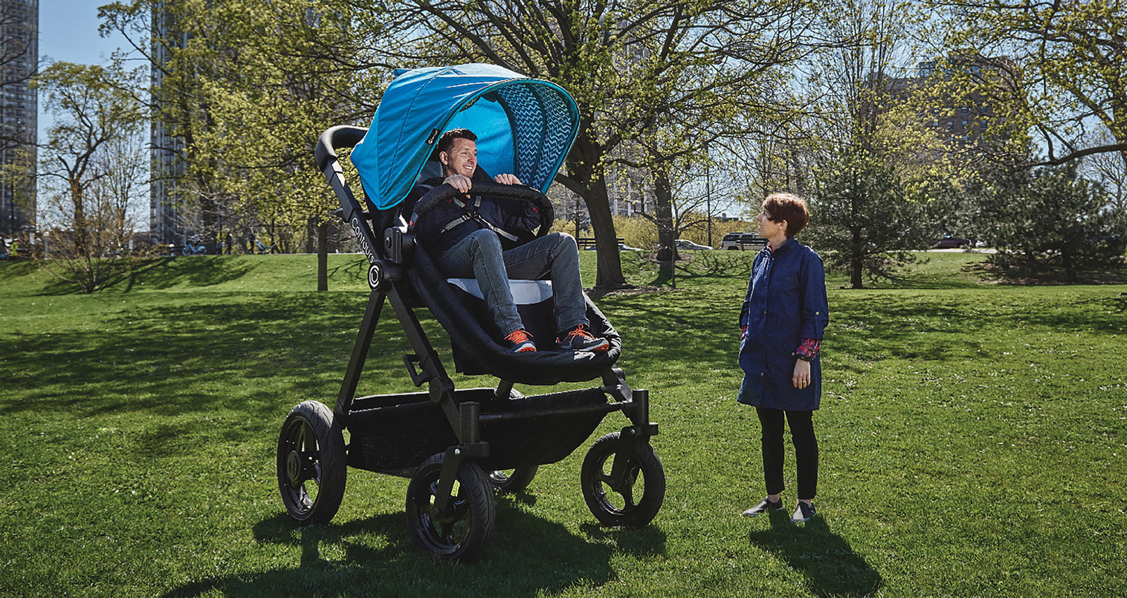 The Baby Stroller Test-Ride by Contours