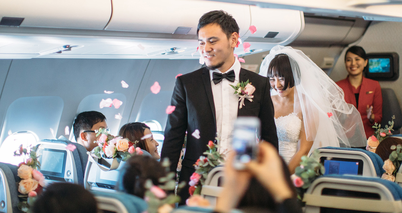 Marriage in the Air – Cathay Pacific and Cathay Dragon
