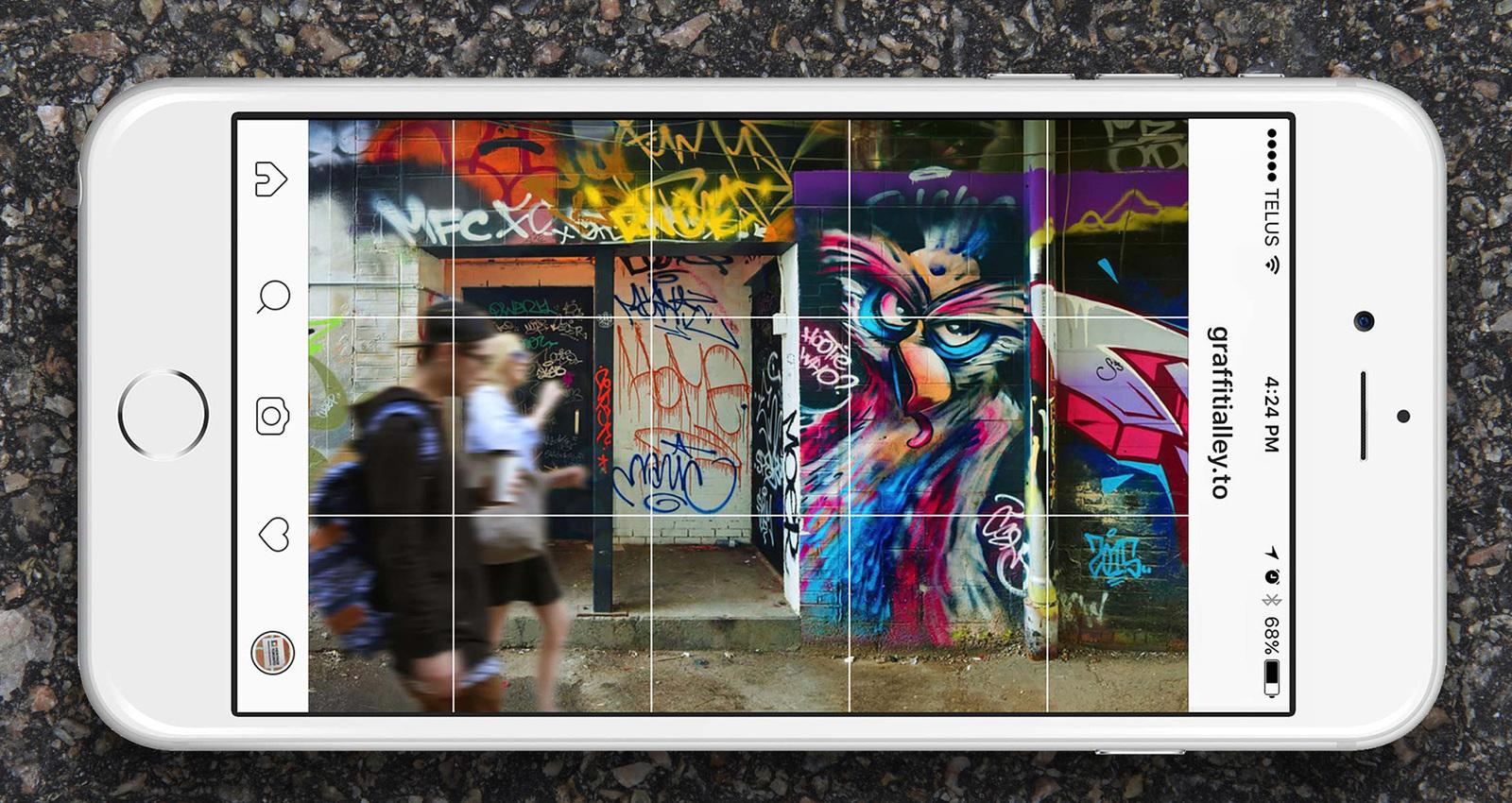 Graffiti Alley InstaTour