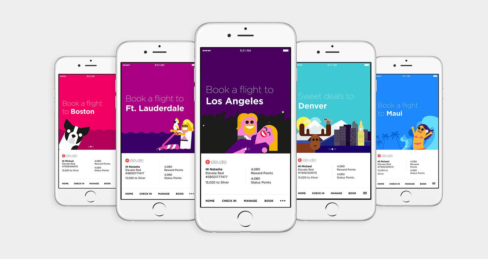 Virgin America's New App