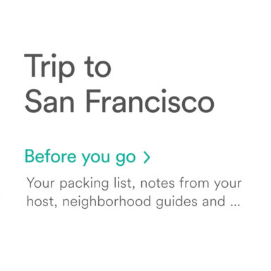 The New Airbnb App