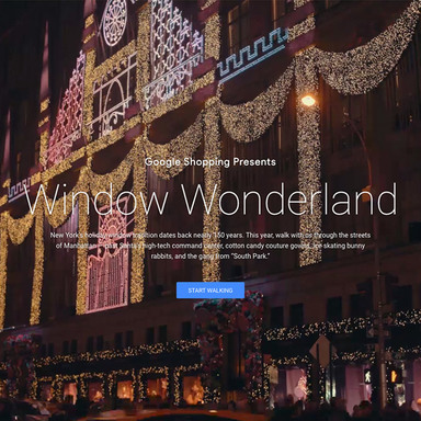 Window Wonderland / Google Shopping